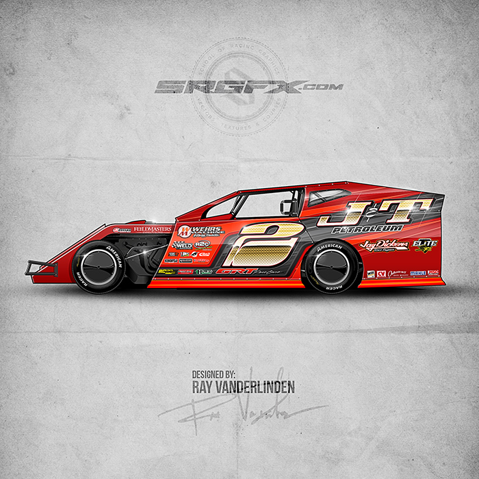 Imca stock car wraps circuit diagram maker for Race car graphic design templates