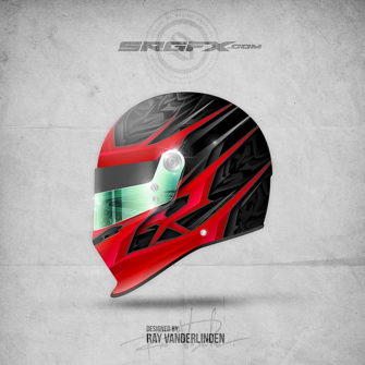 SRGFX Vector Racing Graphic Single 033