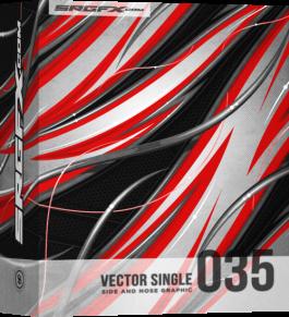 SRGFX Vector Racing Graphic Single 035 Box