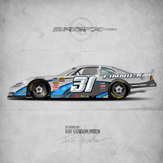Finnick 2016 Asphalt Late Model