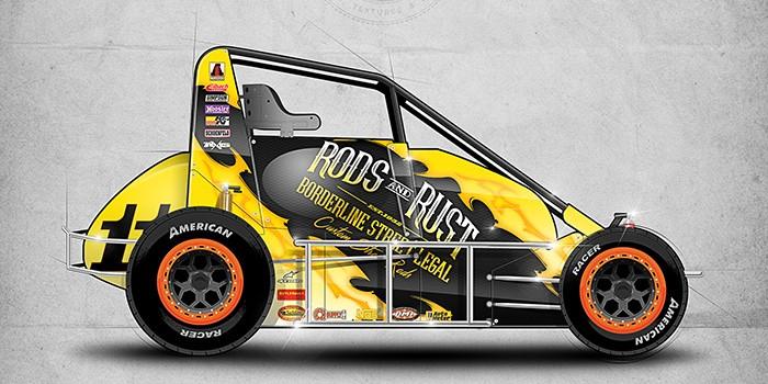 Rods & Rust 2016 Dirt Midget