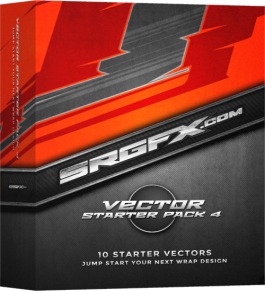 SRGFX Vector Racing Graphics Starter Pack 4