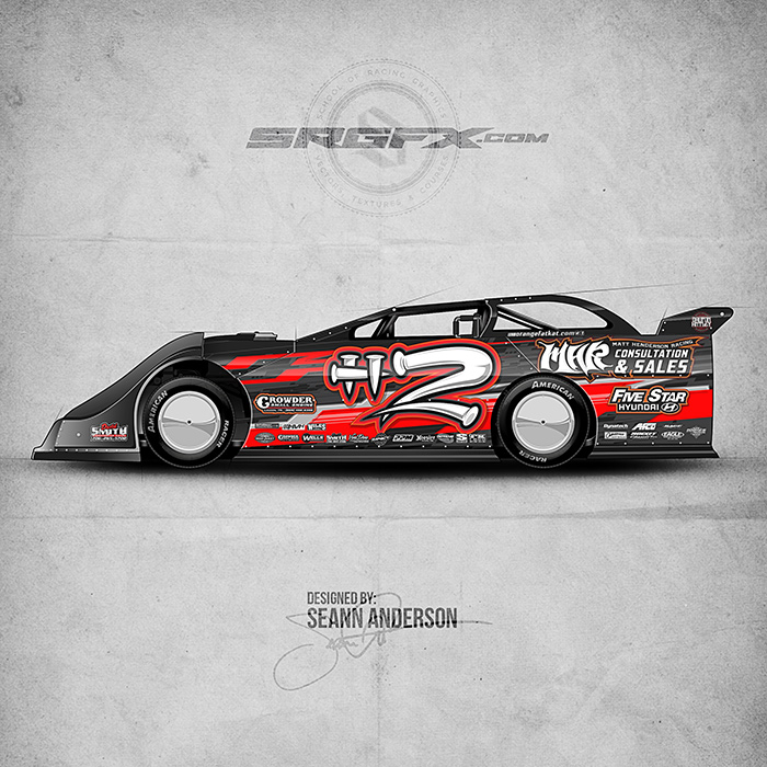 Matt Henderson 2016 Dirt Late Model