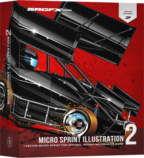 SRGFX Micro Sprint Illusration 2 Box