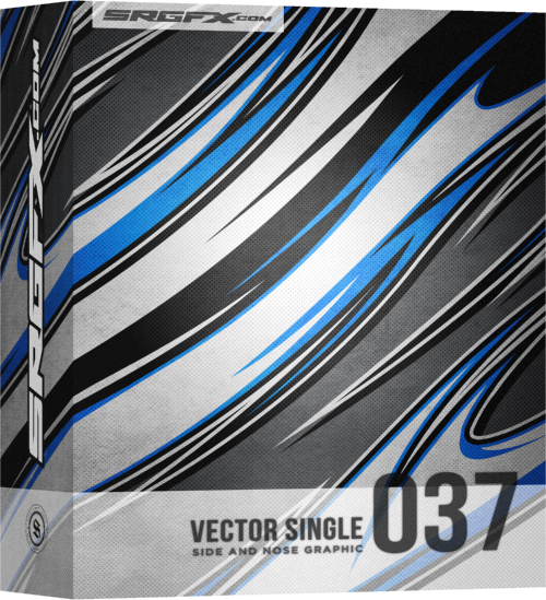 Vector Racing Graphic Single 037 Box