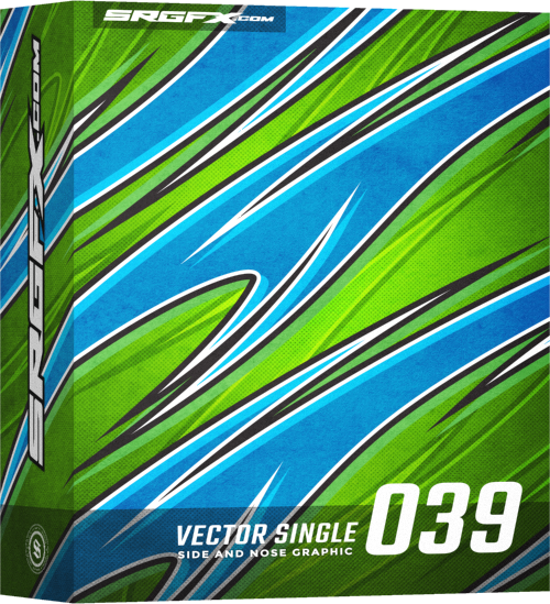 SRGFX Vector Racing Graphic Single 039 Box