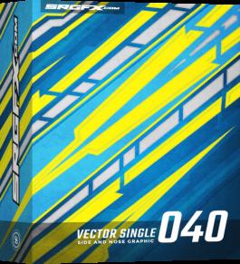 SRGFX Vector Racing Graphics Single 040 Box