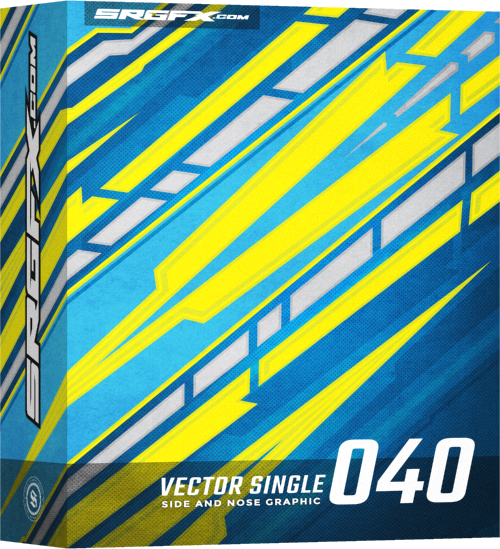 SRGFX Vector Racing Graphics Single 040 Box