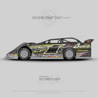 Aultra Motorsports Apparel 2017 Dirt Latemodel