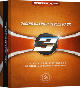 SRGFX Racing Graphic Styles Pack 3 Box