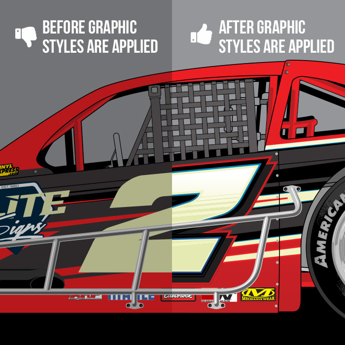 SRGFX Racing Graphic Styles Pack 2