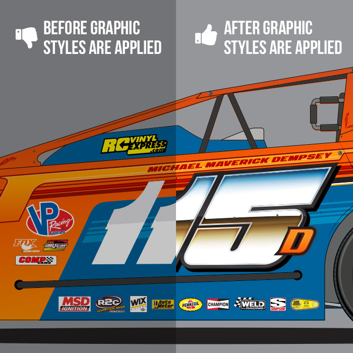 SRGFX Racing Graphic Styles Pack 3