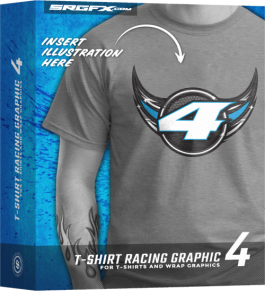 SRGFX T-Shirt Racing Graphic 4