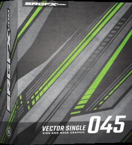 Vector Racing Graphic Single 045 Box