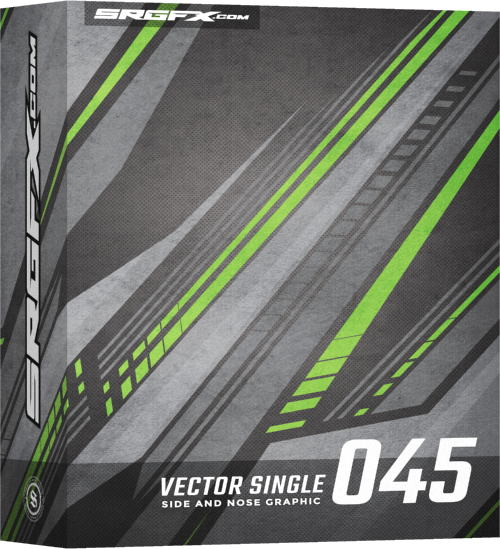 Vector Racing Graphic Single 045 Box
