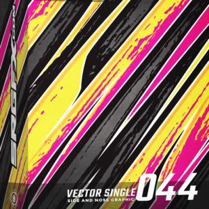 Vector Racing Graphic Single 044 Box