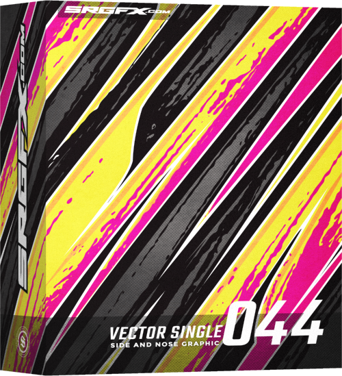 Vector Racing Graphic Single 044 Box
