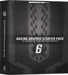 Vector Racing Graphics Starter Pack 6 Box