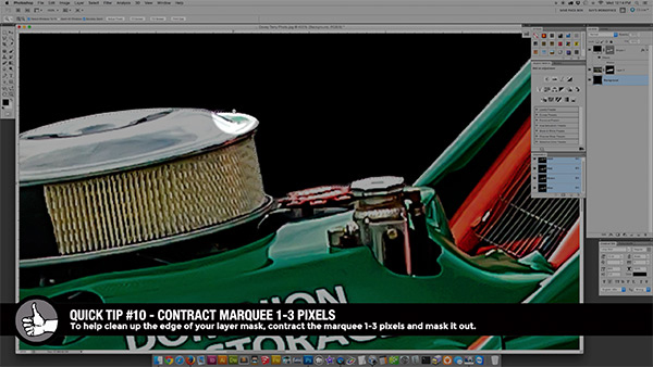 Cropping race car images like a pro in Photoshop Screenshot