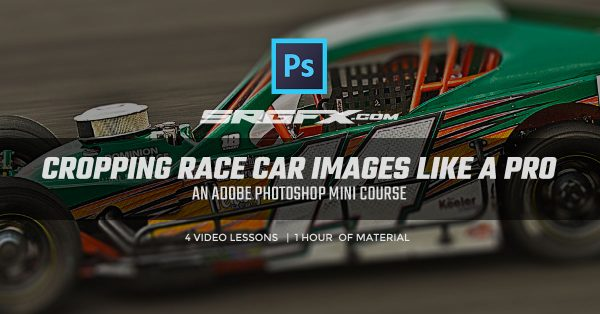 Cropping race car images like a pro in Adobe Photoshop