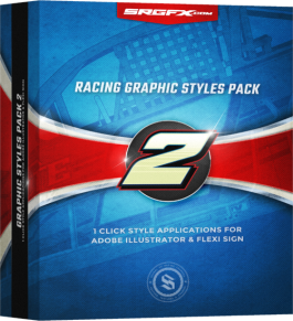 SRGFX Racing Grahpic Styles Pack 2 Box
