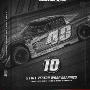 SRGFX Vector Racing Graphic Pack 10