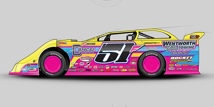 Wentworth Towing 2017 Dirt Late Model