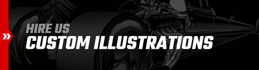 Hire SRGFX for custom illustrations