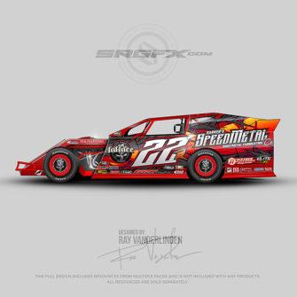 SpeedMetal 2017 Dirt Modified