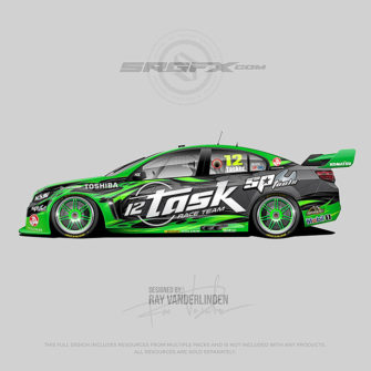 Task Racing 2017 V8 Supercar