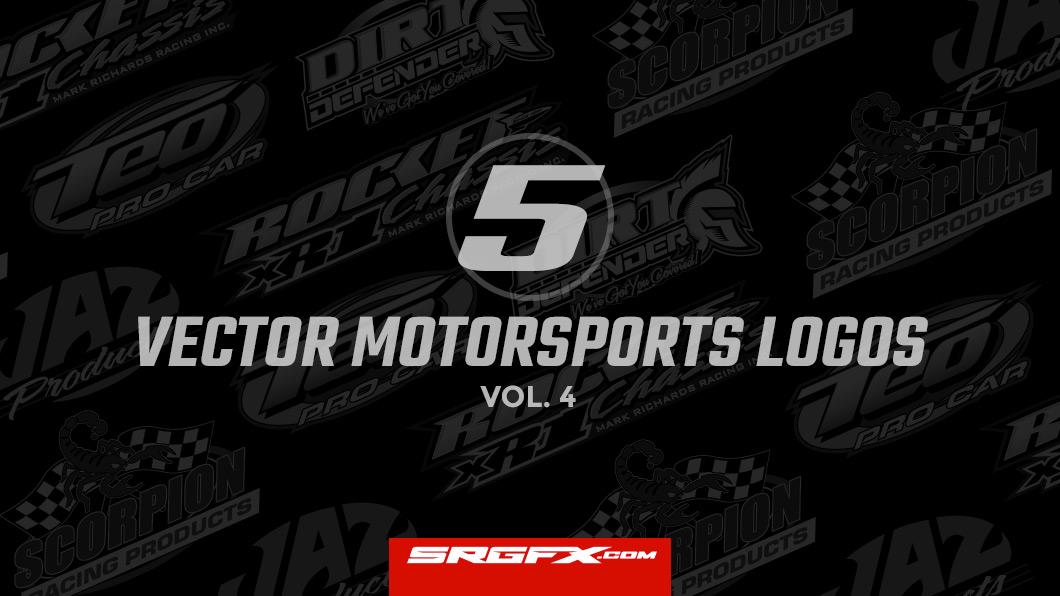 5 vector motorsports logos