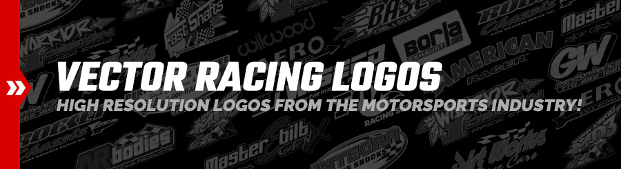 Vector Racing Logo Brands