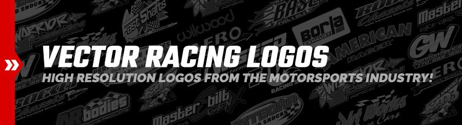 Vector Racing Logo Brands