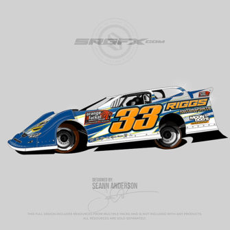 Riggs Motorsports 2016 Dirt Late Model