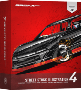 SRGFX Street Stock Illustration 4 Box