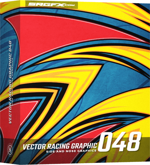 SRGFX Vector Racing Graphic 048 Box
