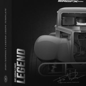 SRGFX Dirt Asphalt Coup Legend Template Box
