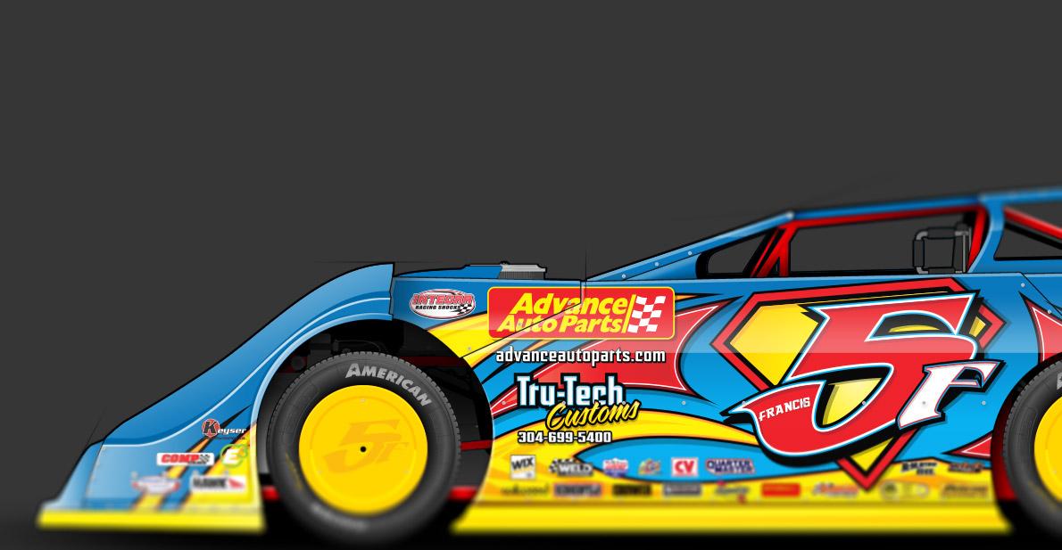 Vector Racing Graphic 048