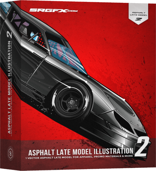 SRGFX Asphalt Late Model Illustration 2 Box