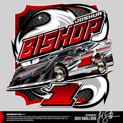 Joshua Bishop 2017 T-Shirt Illustration