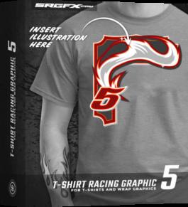 SRGFX T-Shirt Racig Graphic 5 Box