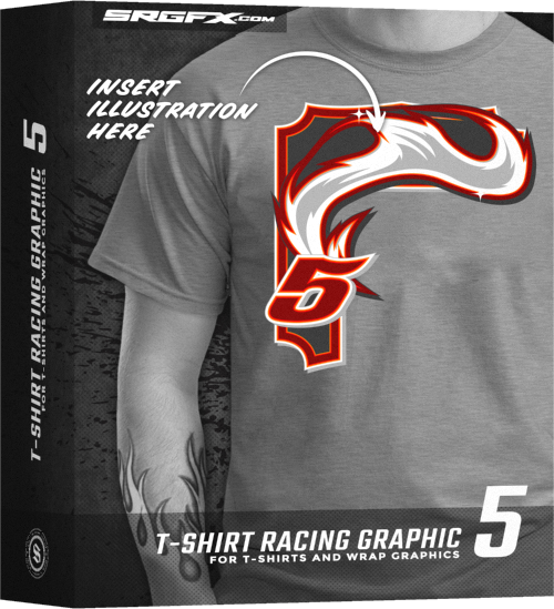 SRGFX T-Shirt Racig Graphic 5 Box