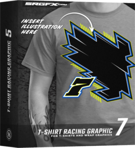 SRGFX T-Shirt Racing Graphic 7 Box