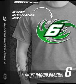 T-Shirt Racing Graphic 6 Box