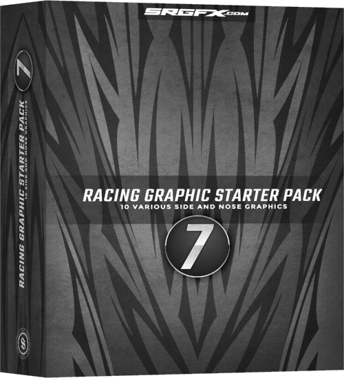 Vector Racing Graphics Starter Pack 7 Box