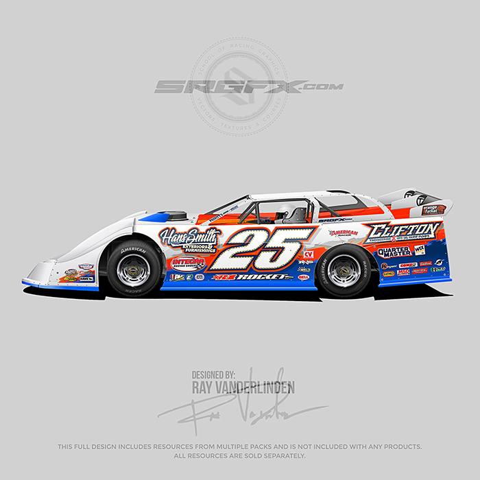 Hans Smith 2018 Dirt Late Model