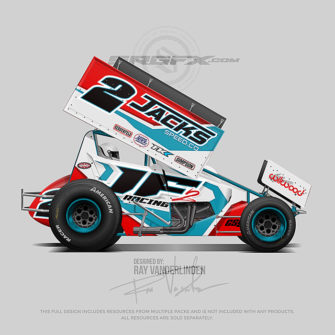 Cs9 Sprint Car Template School Of Racing Graphics