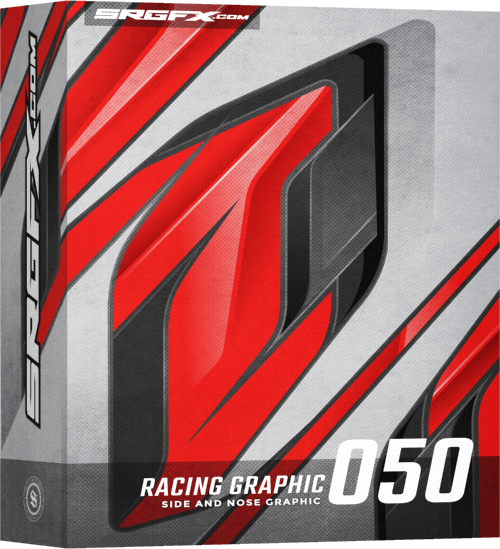 SRGFX Vector Racing Graphic 050 Box
