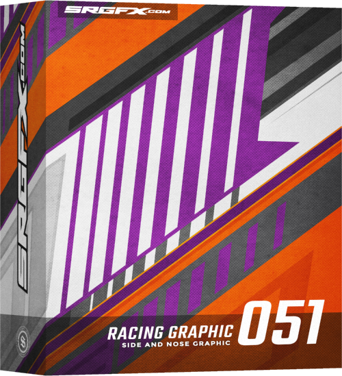 SRGFX Vector Racing Graphic 051 Box