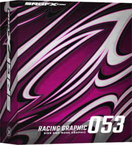 SRGFX Vector Racing Graphic 053 Box